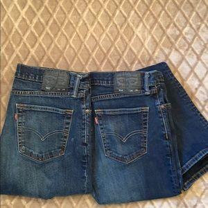 Men's Levi 511 Slim Fit Jeans 34X34 Bundle